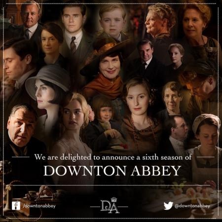 downton abbey s6 announcement