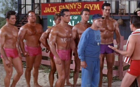 muscle beach party bodybuilders