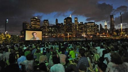 outdoor movie nyc