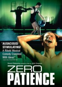 zero patience dvd