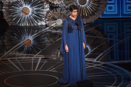 """The academy is going to lead and not wait for the industry to catch up,"" said Cheryl Boone Isaacs, the academy's president. Credit Kevin Winter/Getty Images"